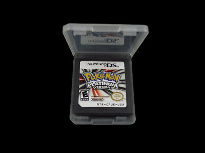 Pokemon Platinum Version  Nintendo DS 3DS game cartridge only