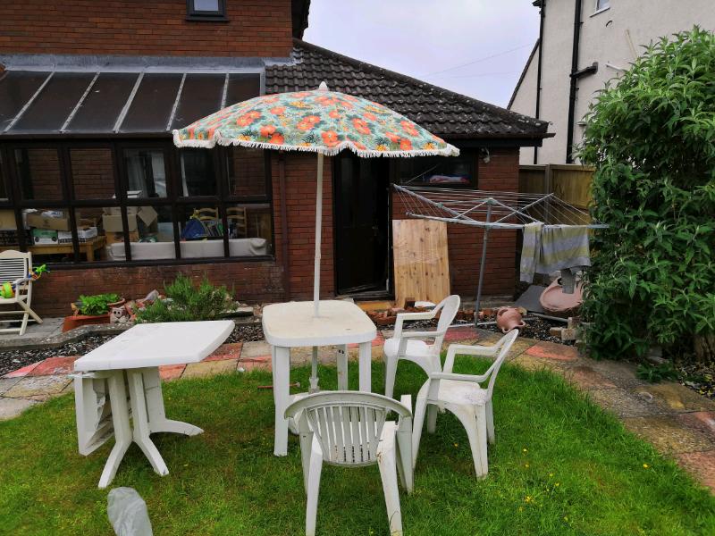 Excellent Parasol And Garden Furniture In Henleaze Bristol Gumtree Beutiful Home Inspiration Truamahrainfo
