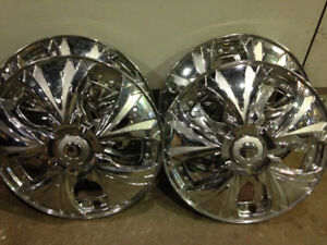 "Spinning Wheels Hubcaps 14"" for tire set of 4 for $30"