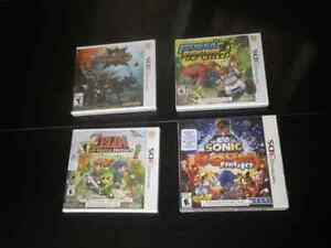 3DS great games, Brand  New , Sealed , Never opened.