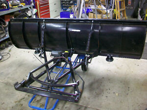 """88"""" SNOWBEAR PERSONAL SNOW PLOW USED 3 MONTHS Cambridge Kitchener Area image 1"""