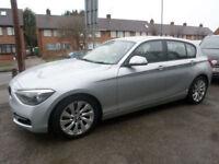 2012 BMW 1 Series 1.6 116i Sport 5DR 12 REG Petrol Silver