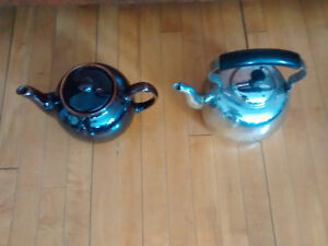 Brown Betty or stainless steel kettle