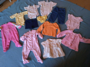Lot of Size 12 Month Girls Clothes