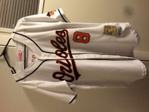 Cal Ripken 2001 Mitchell and Ness Jersey, size 50.