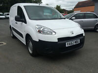 Peugeot Partner 1.6HDi ( 92 ) 850 S L1 only 40k FSH DRIVES WELL NO VAT 1 OWNER