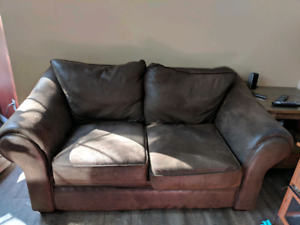 Couch And Loveseat In Pickup Truck