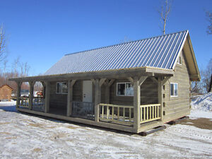 Square Timber Cabins for Sale
