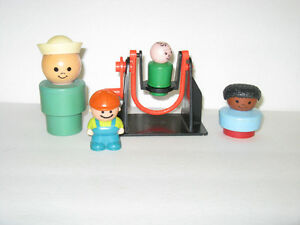 OLDER FISHER PRICE LITTLE PEOPLE ~ SAILOR ~ BLACK GIRL ETC.