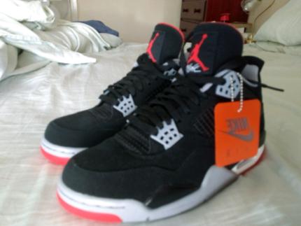 Air Jordan 4 bred 2019 Brand new | Men's Shoes | Gumtree