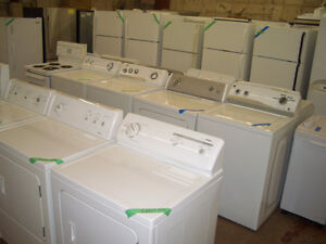 NEW & USED WASHERS & DRYERS STARTING AT $299! 90 DAY WARRANTIES!