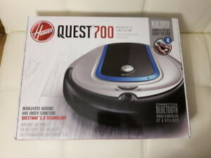 New Hoover Quest 700 Robo vacuum with bluetooth