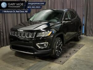 2018 Jeep Compass Limited 4x4   - LEATHER, REMOTE START AND MORE