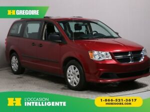 2016 Dodge GR Caravan Canada Value Package AUTO A/C