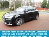 2014 14 AUDI A1 1.6 TDI S LINE STYLE EDITION 3D 103 BHP (( [Website URL removed] )) D