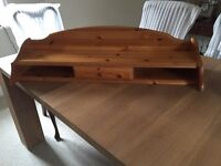 Dressing table or desk top