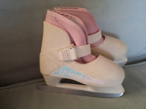 Girls Size 10-11 Lange Lil' Angel Skates