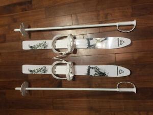 Ski de pratique pour enfants