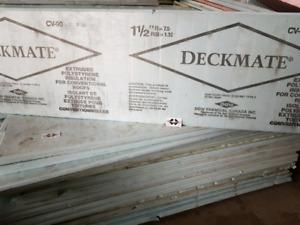 "●Cheap 1.5"" thick Blue Dow 2'x8' Styrofoam Sheets. 50%off ! R-7."