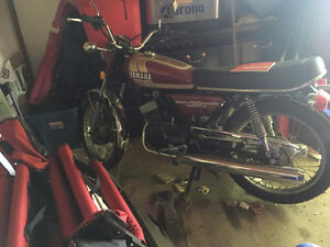 Yamaha RD 125B Good Condition $2000 O.B.O LOW KM