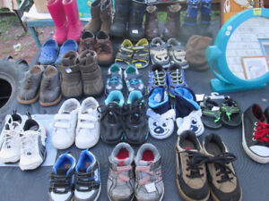 Lots of Toddler boots and shoes for sale