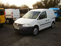 10(60) VOLKSWAGEN CADDY 69PS SDi 42,000 MILES