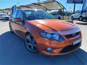 2010 Ford Falcon FG Upgrade XR6T 50th Anniversary Orange 6 Speed Auto Seq Sportshift Sedan