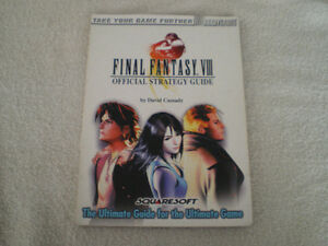 Final Fantasy VIII Brady Games Official Strategy Guide PS1