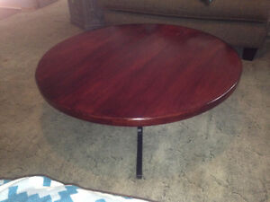 Round Industral Coffee Table