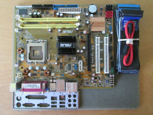 Asus P5KPL-CM Socket LGA 775 motherboard (for C2Q, C2D, etc.)