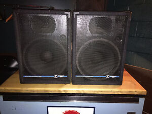 Yorkville YS153 300 watt Speakers (pair)