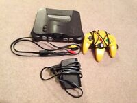 Nintendo 64 (N64) with 1 Controller