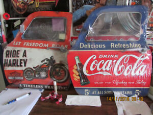 Various garage,,,and man cave signs,,lots are new