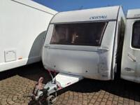 CRISTALL MOREA 530EB FIXED SINGLE BEDS 4 B ERTH 2004 ONLY £2850