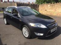 2009 Ford Mondeo Estate Automatic 2.0TDCi 140 Ghia low miles 101k fsh rare car
