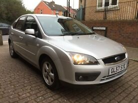 Ford Focus 1.6 115 ZETEC CLIMATE (silver) 2007