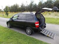 2011 Kia Sedona 2.2 CRDi 3 Top Spec, WHEELCHAIR ACCESSIBLE DISABLED ADAPTED WAV