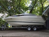 Bayliner Cirea 2355 with dual axe trailer