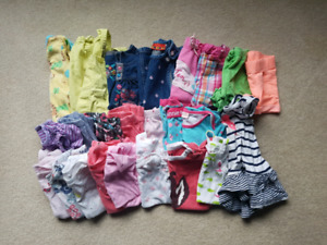 Girls size 12m summer lot
