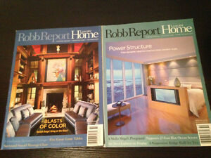 BACK ISSUES OF HOME DECOR & DESIGN MAGAZINES