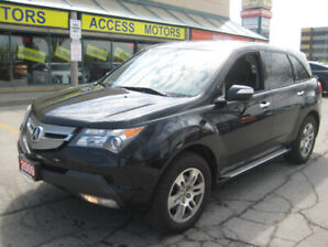 2009 Acura MDX , Only 113K !!7 Passengers !!Leather heated seats
