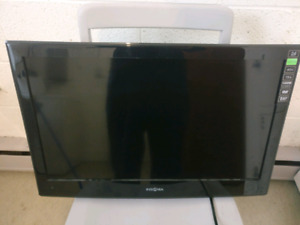 "24"" insignia dvd wall mount tv."