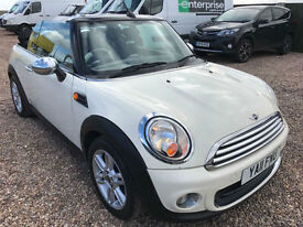 2011 11 Mini Mini 1.6 One CONVERTIBLE 6 SPEED 61.4 MPG WHITE MAY PX
