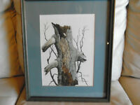 Original Signed Watercolour - by Tom Guinan  REDUCED