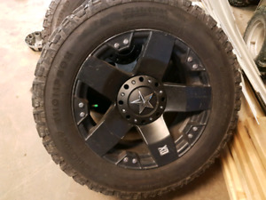 20 inrockstar wheels with mickey thompson tires