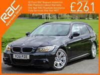 2011 BMW 3 SERIES 320d Turbo Diesel 181 BHP M Sport Auto Estate Leather Bluetoot