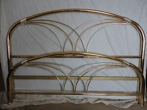 BRASS BED KING SIZE