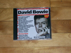 David Bowie Collection - 14 Albums - Rare Russian Import CD