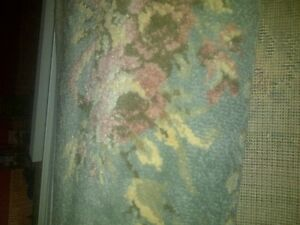 Clean/Thick. Area rug. Size 7.5 wide x 11.5 long.