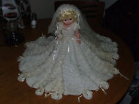 Bridal Doll - Hand-made - BEAUTIFUL - $10.00   This would look